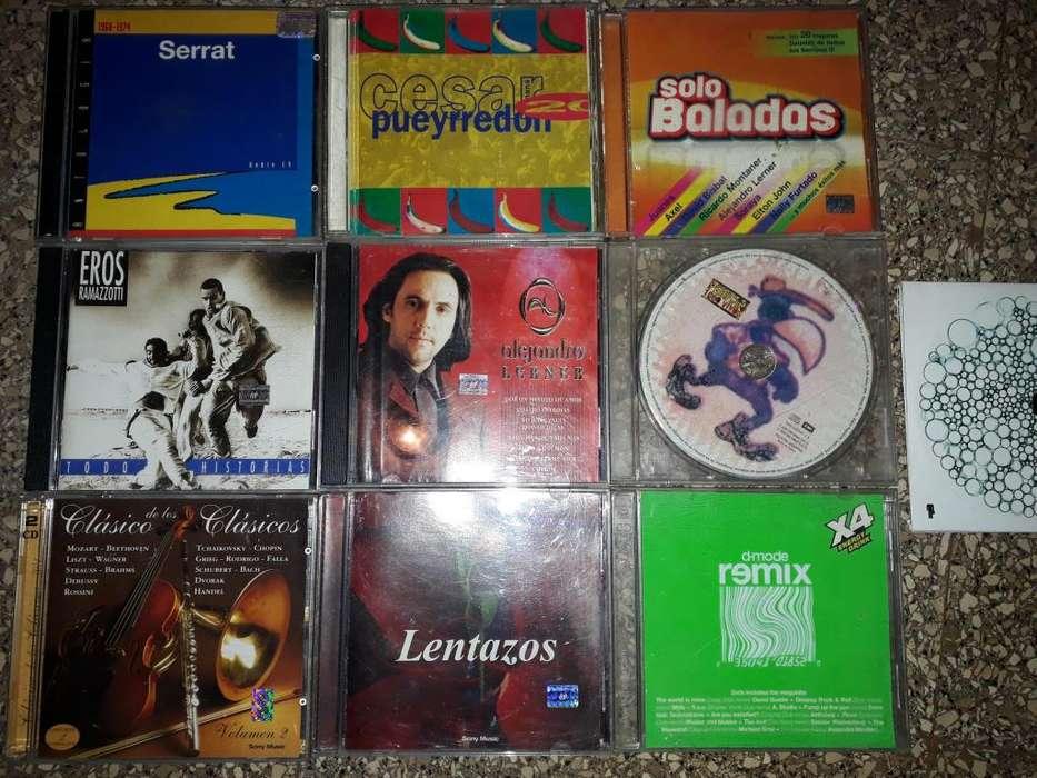 CDs originales (lista de títulos en descripción) 50