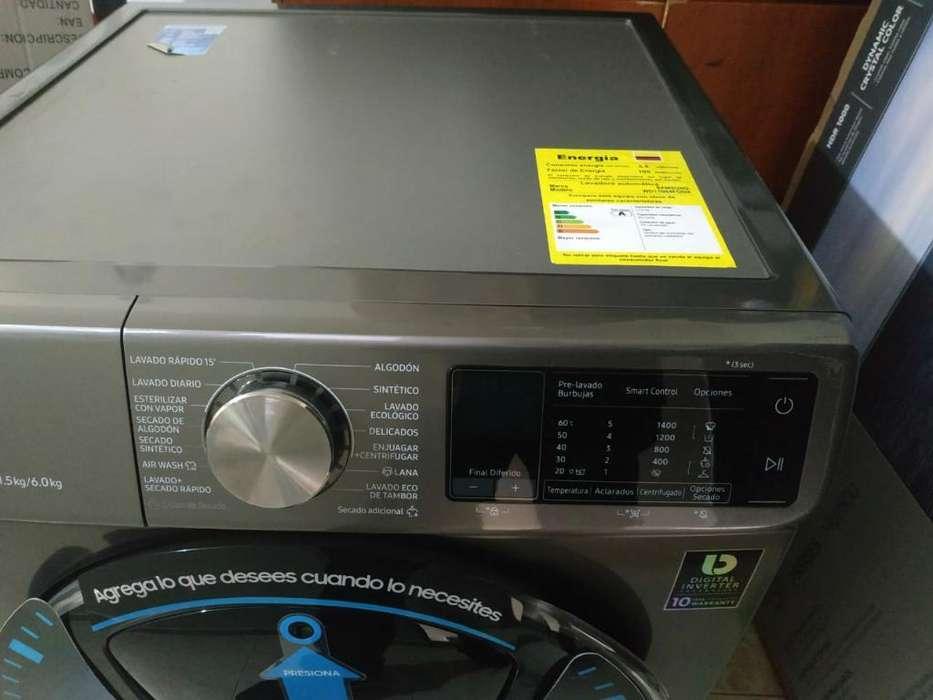 Lavadora Secadora Carga Frontal 11.5 Kg