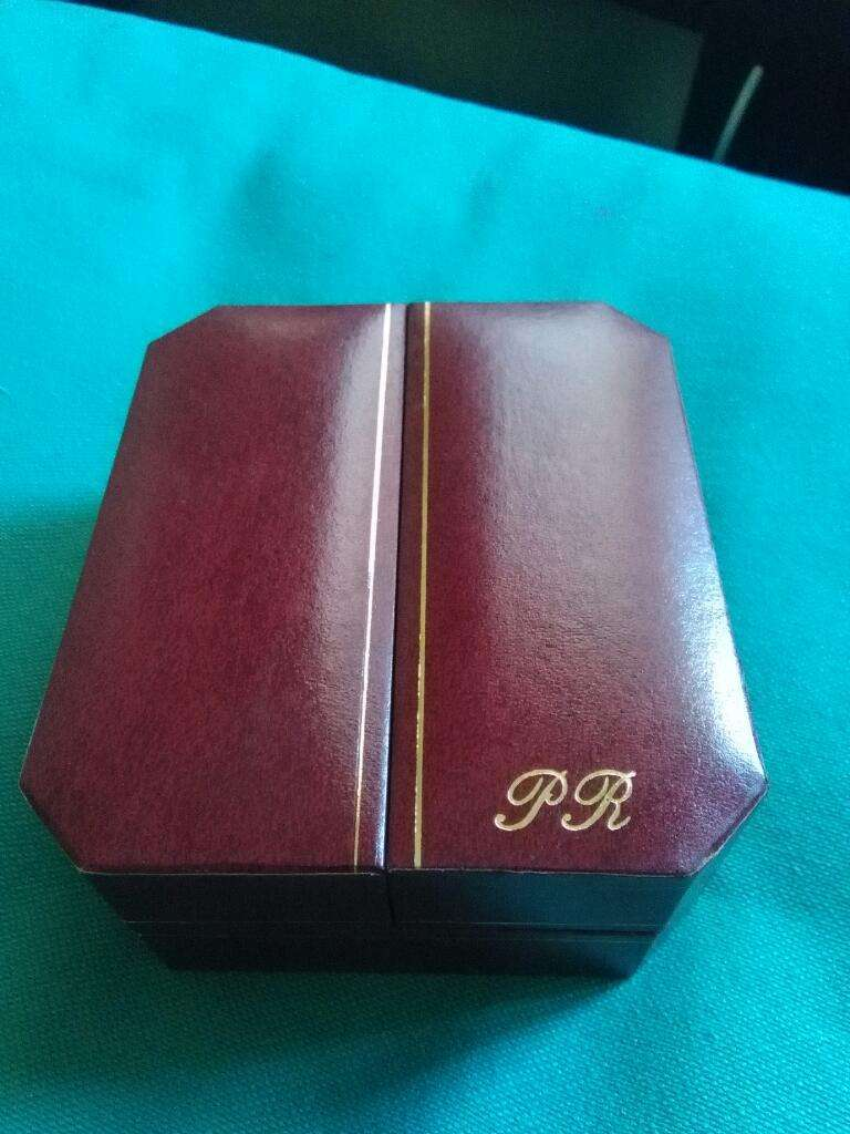 Solo Caja Original de Reloj Paul Richard 1995 origen suiza 12 X 11 cm