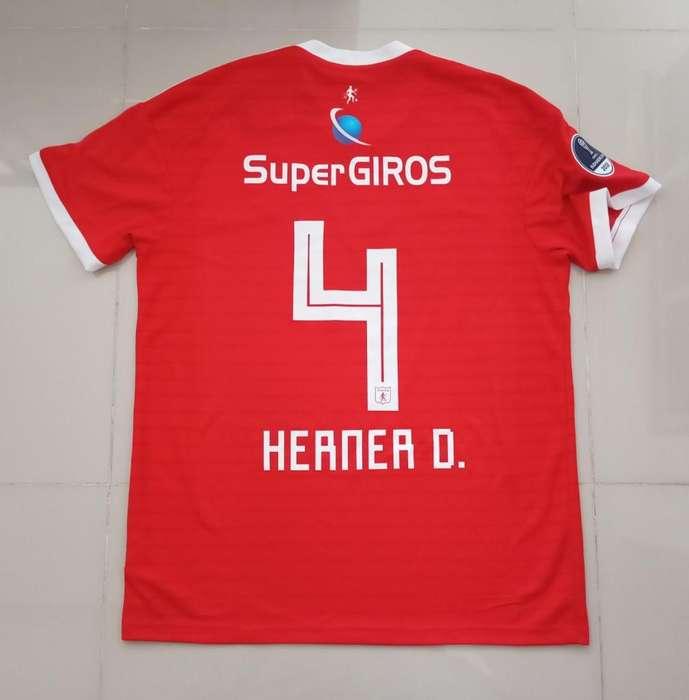 Camiseta Diego Herner, America De Cali 2018 Copa sudamericana