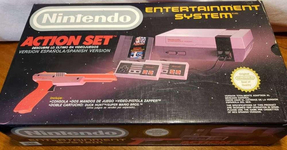 Nintendo Nes Completísima Más Tv