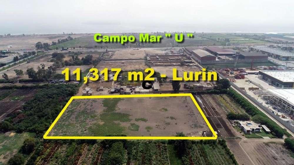 Vendo Terreno de 11,317 m2 en Lurin