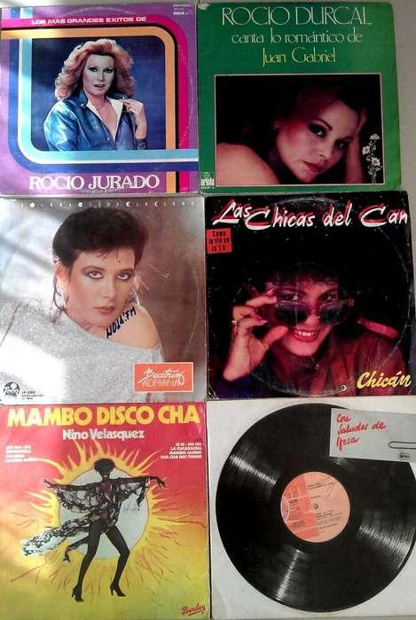 DISCOS DE ACETATO VARIADOS LPS Y SENCILLOS