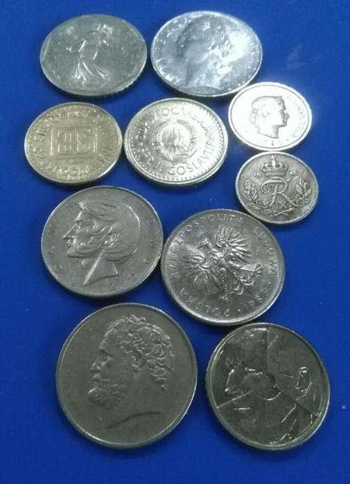 Monedas Mundiales Lote Interesante