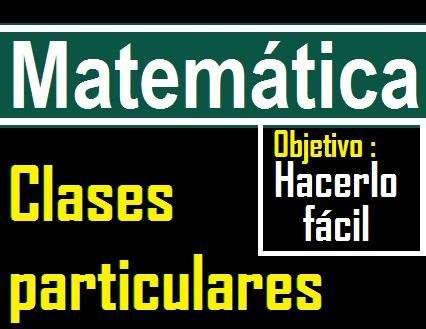 Profesor de matemática, USIL, UPC, ESAN, USMP, U DE LIMA, UNIFE, PACIFICO, PIURA, PUCP, URP, ETC...matematica