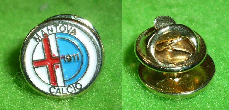 RARO PIN DISTINTIVO DEL CLUB MANTOVA CALCIO DE ITALIA 1990s