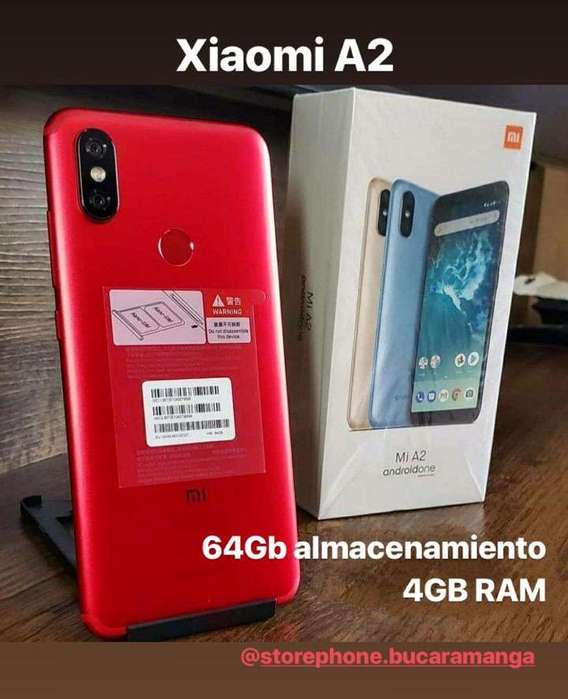 Xiaomi Mi A2 Rojo Nuevo