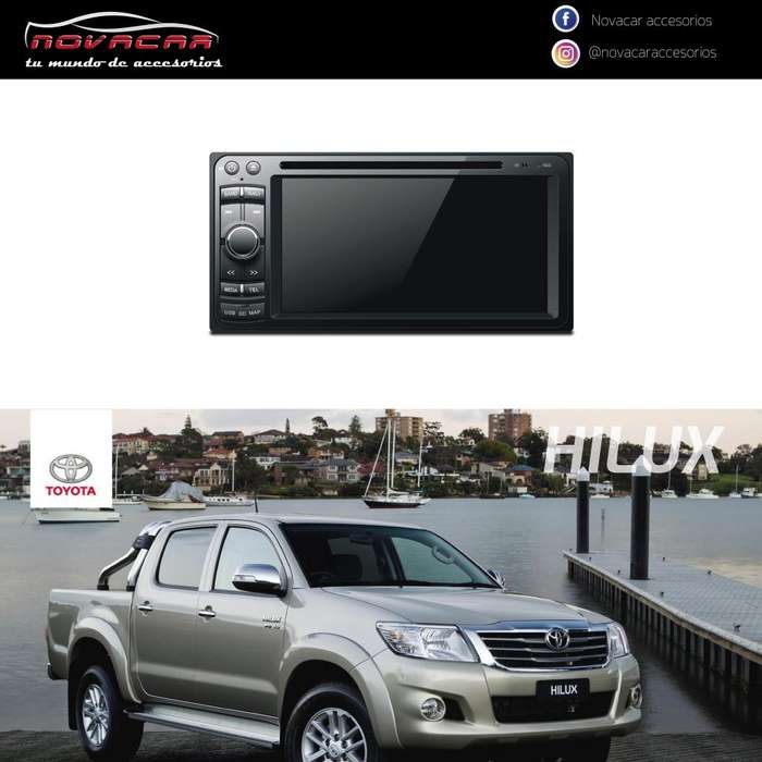 RADIO SOFTWARE A10 UNIVERSAL TOYOTA HILUX