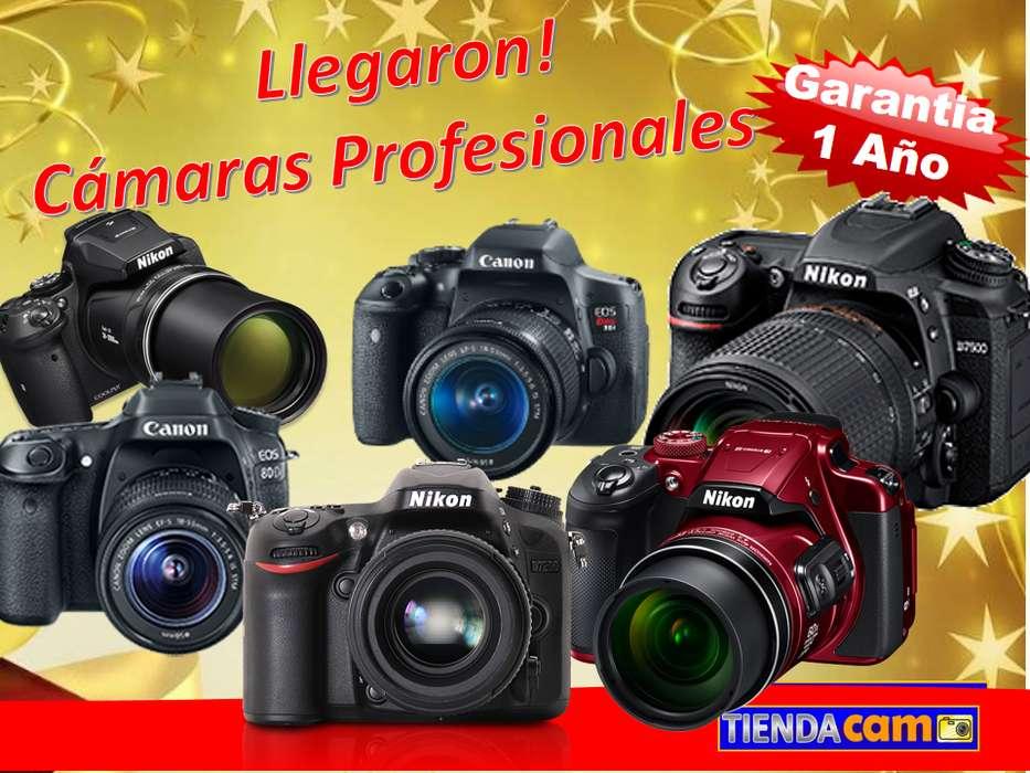 <strong>camaras</strong> FOTOGRAFICA PROFESIONAL CANON T6i T7i 80D NIKON D3400 D5300 D5500 D5600 D7100 D7200