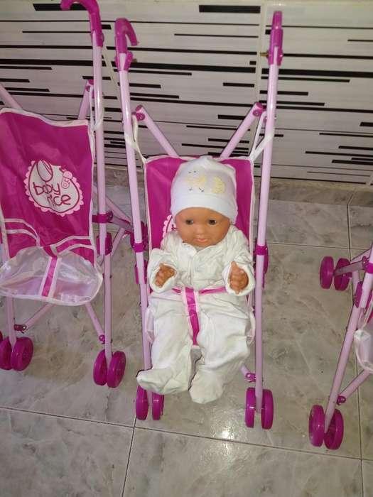 Coches para Muñeca El Bebe Es de Muestra