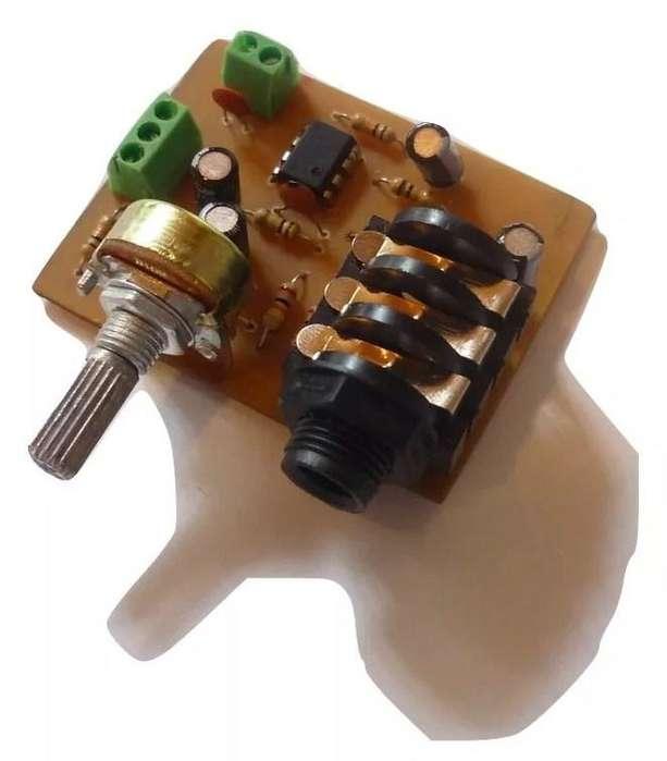 Preamplificador Para Microfono Y Guitarra