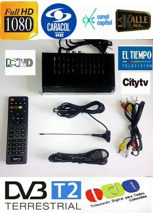 Decodificador Tdt 17 Canales Full Hd