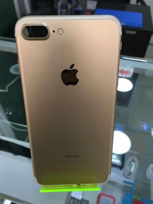 iPhone 7 Plus Dorado de 32 Gb Como Nuevo