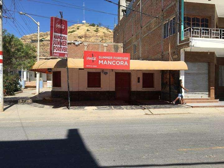 Alquiler de casa ideal para negocio ubicado en el Centro de Máncora