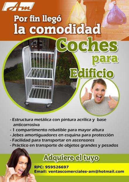 COCHE PARA EDIFICIO