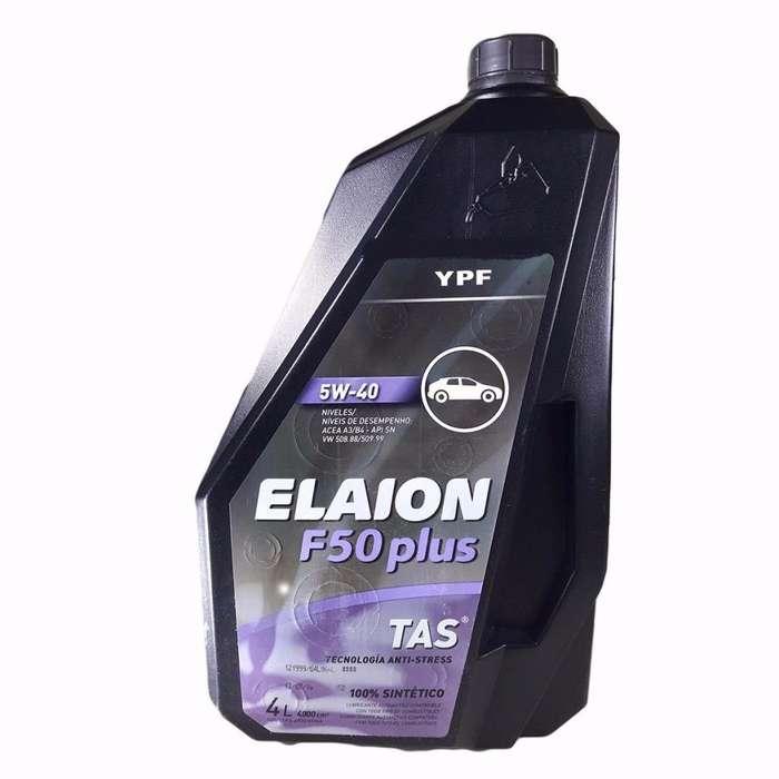 vendo aceite elaion f50 plus 5w40 por 4lts nuevo