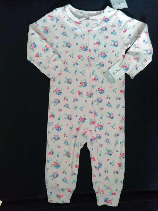 Pijama Carter's Niña Talla 9 Meses Nueva
