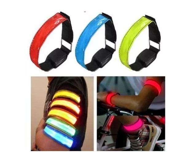 Bandas Led , novedosas para correr o adaptar a bicicletas
