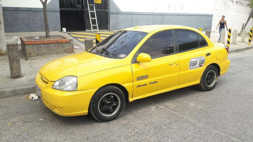 Vendo O Permuto Kia Rio Taxi 2013