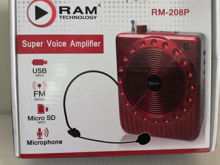 Microfono Portable de Diadema