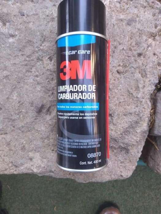 LIMPIA CARBURADOR 3M