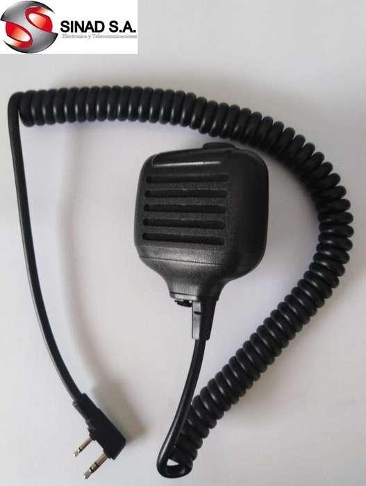 Microfono para portati UHF / VHF para cualquier modelo Kenwood