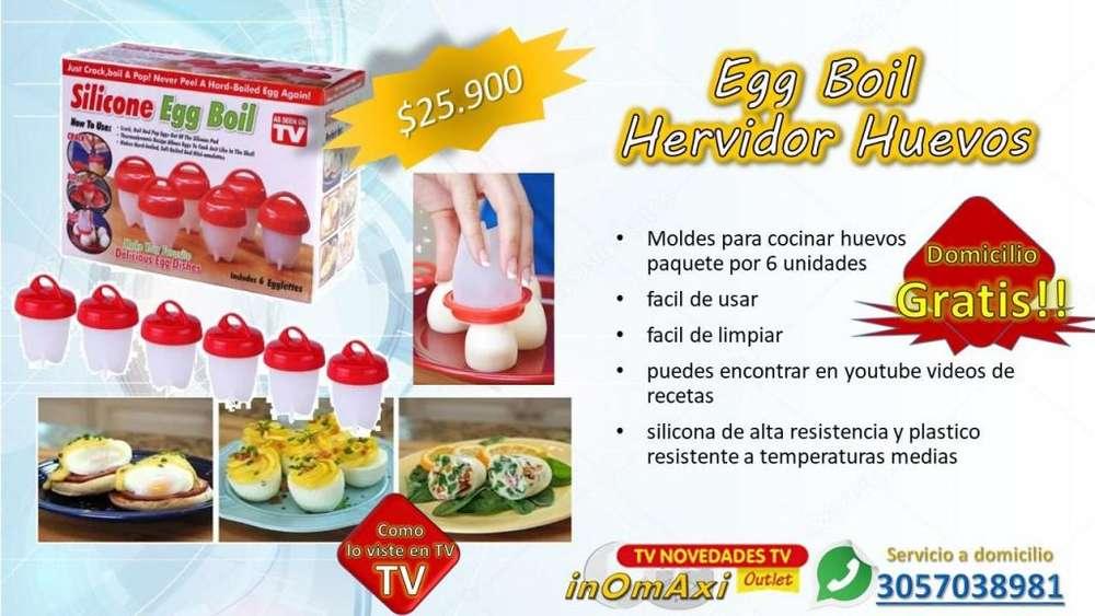 Egg Boil Hervidor Huevos silicona