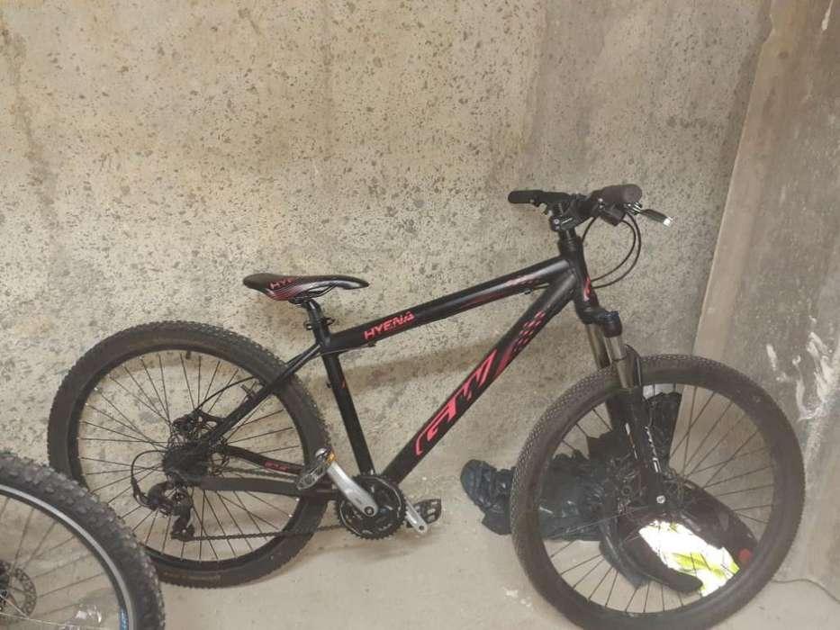 Bicicleta Gw Hyena Usada Buen Estado