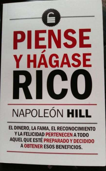 Libro Piense Y Hagase Rico Napoleón Hill