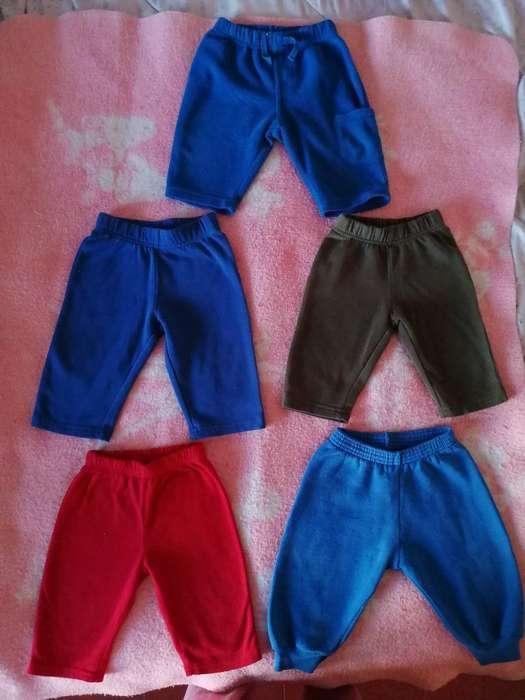 Lotecito de Pantalones Talla 12 Meses