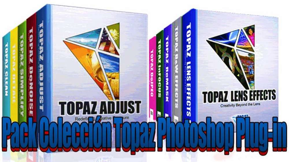Topaz Collection photoshop plugin