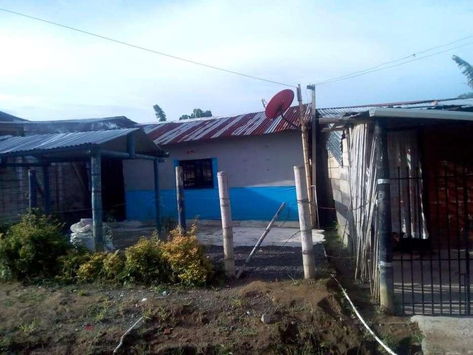 Se vende casa lote en el barrio remanzo