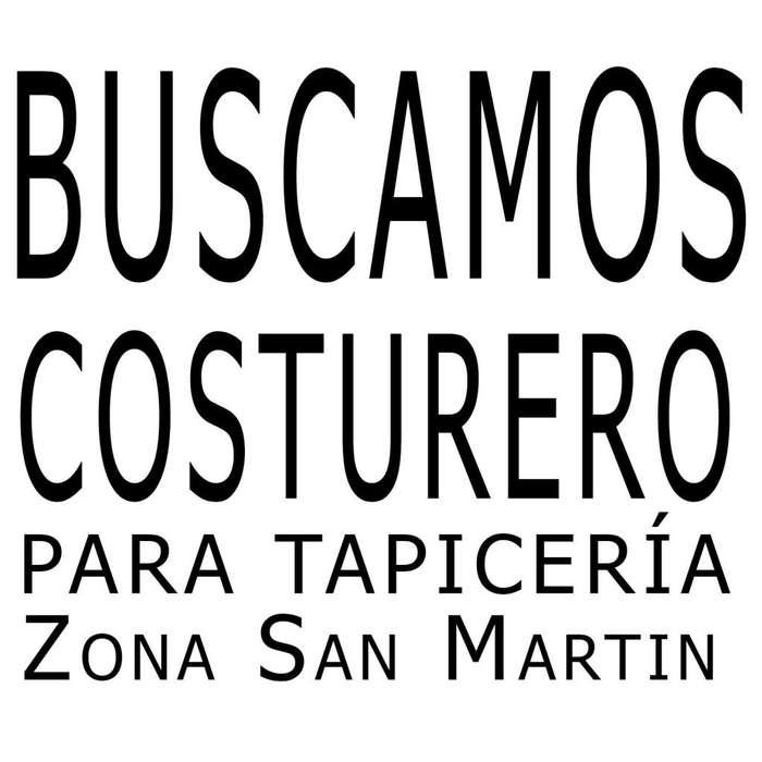 Buscamos costurero para tapieceria en San Martin