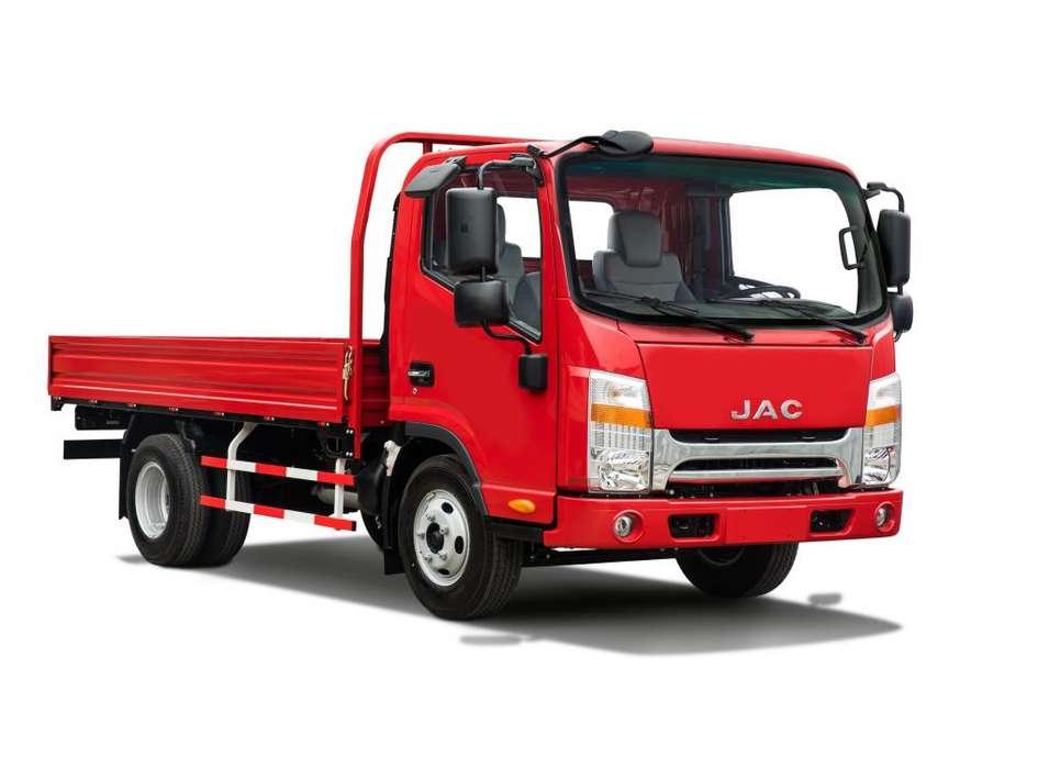 Camión JAC 3 Ton. con Baranda VIP Euro 4 - D300 CRDI BAR VIP E4 - N1 PICK UP