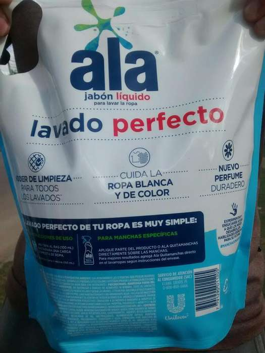 Jabon Liquido Ala 3l