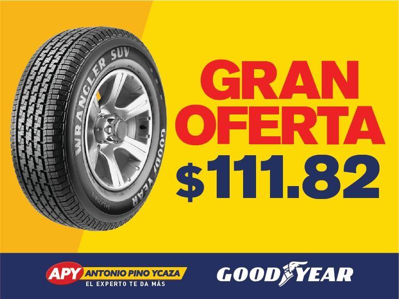 LLANTA GOODYEAR 235/60R16 WRANGLER SUV / CHERRY TIGGO GRAND VITARA