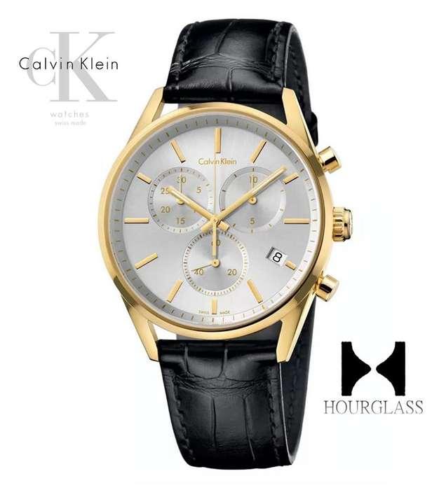 Reloj Calvin Klein K4m275c6 Nuevo En Caja