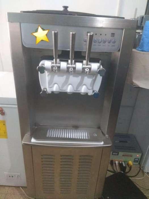 vendo Maquina de helados taiwanes la mejor calidad y de acero inoxidable