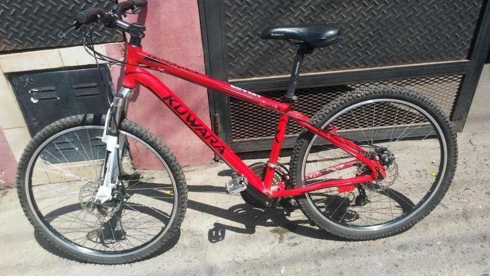 vendo bicicleta todo terreno impecable equipamiento shimano frenos a disco mi wsp 3815821607