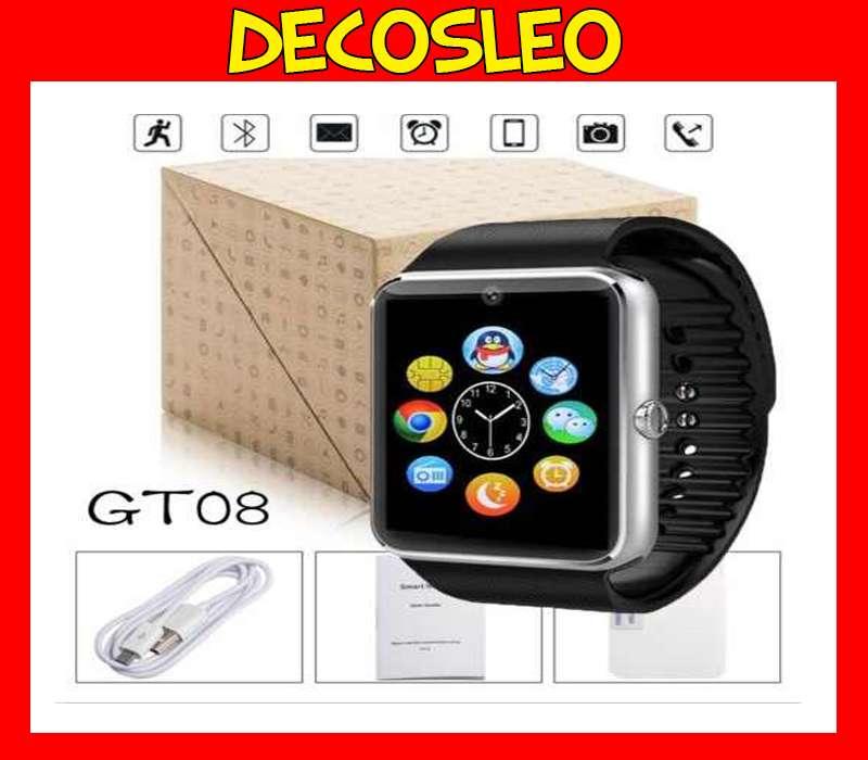 Smart Watch Reloj Inteligente Celular Android Gt08 Fit Band