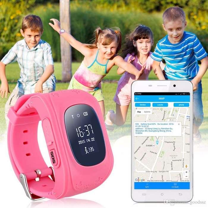 Reloj Inteligente Para Niños Con Gps Localizador Y Llamadas SOS