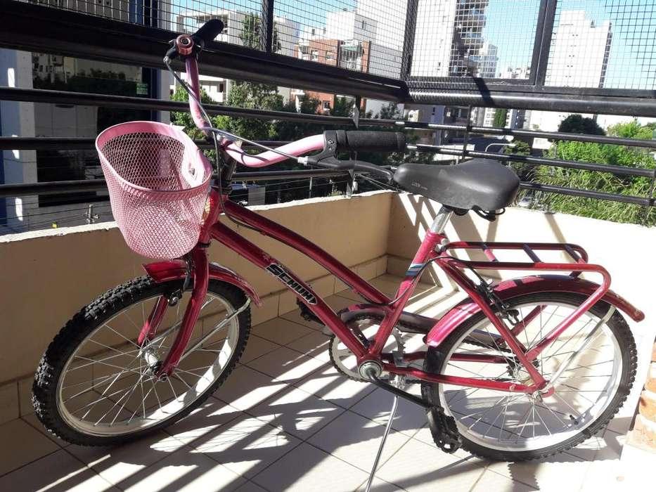 Bicicleta Niña de Paseo Rodado 16