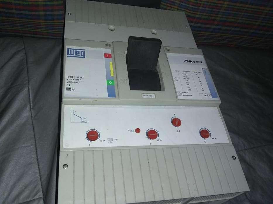 Interruptor Trifasico Termomagnético