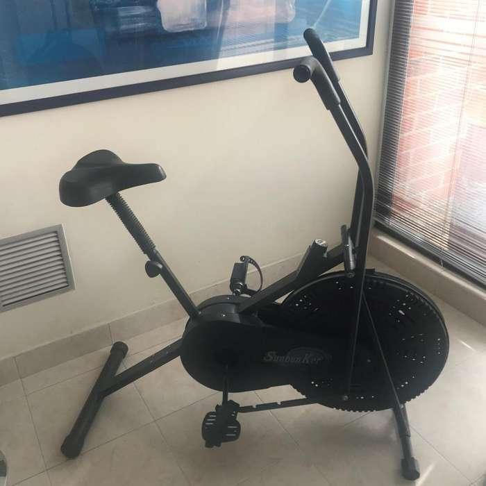 Bicicleta estática híbrida