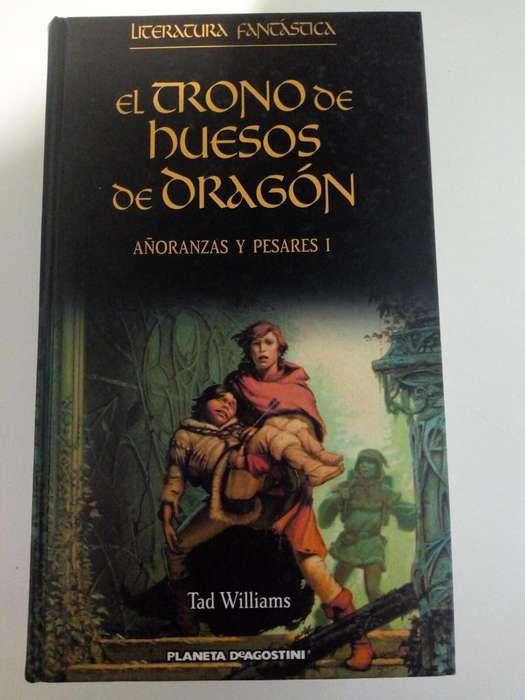 Vendo libro nuevo: El trono de huesos de dragón, Tad Williams