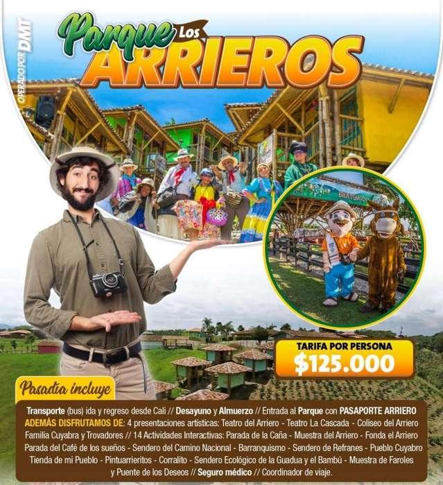 Parque de los Arrieros -domingo 30 de junio y todos los domingos