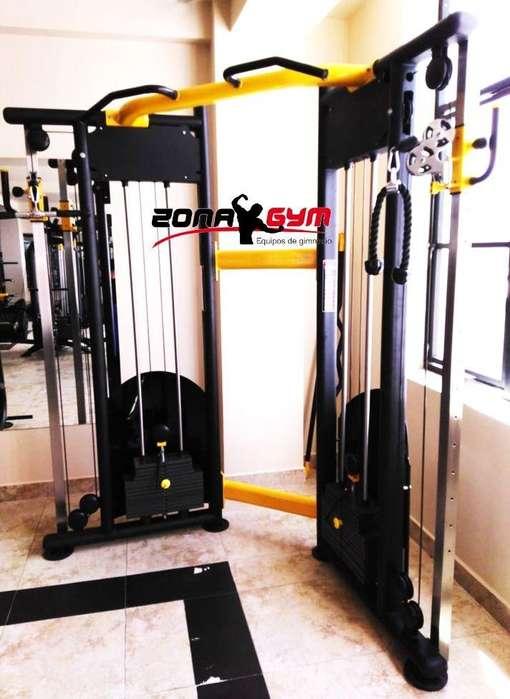 fabricamos equipos de gimnasio , aparatos de hogar, también tenemos linea importada