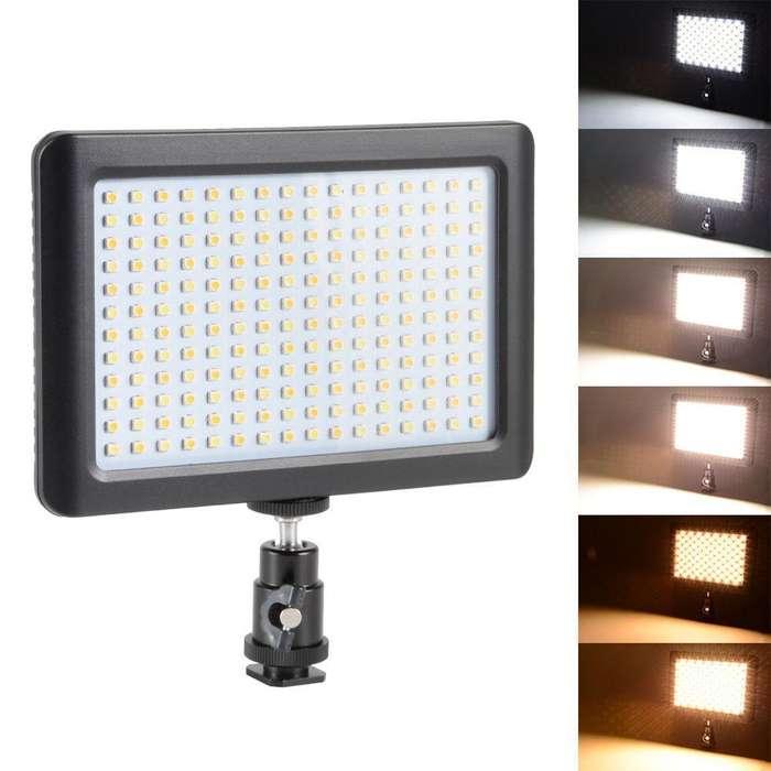 NuevaLuz Led Video Light Gilumi 192pcs Ultra Thin Lámpara