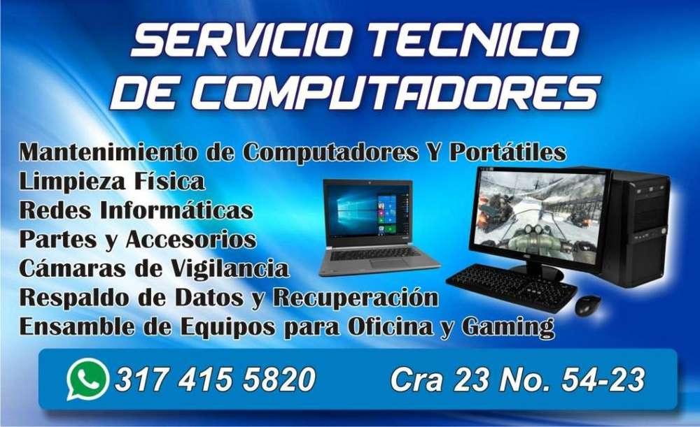 Servicio Tecnico Mantenimiento de Computadores y Portatiles