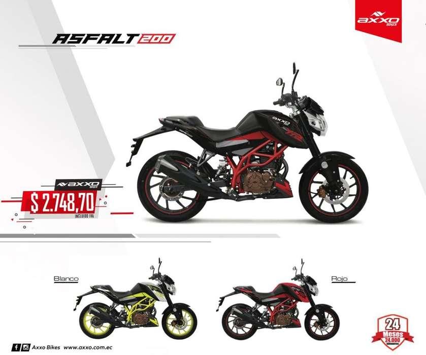 Moto Asfalt 200